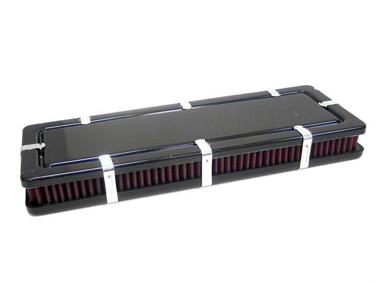 Airbox; Universal Blank, Black, 51Mm