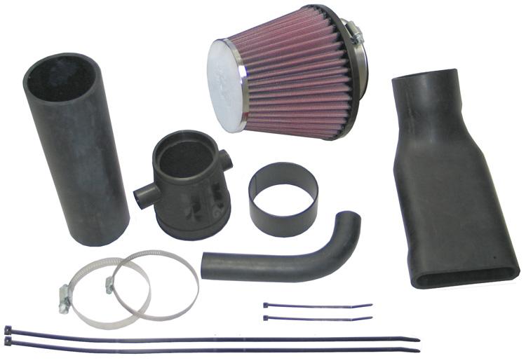 Kit aspirazione k n typhoon e 57i performance kit peugeot for Filtro aria abitacolo valanghe 2004 chevy
