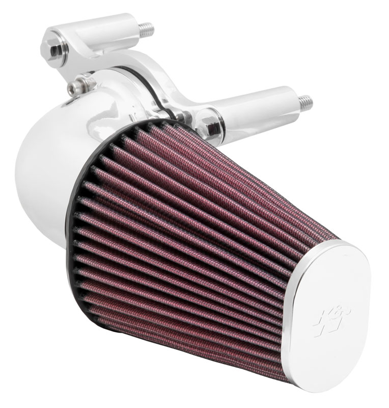 Aircharger; H/D Softail/Dyna Fi, 01-14 - Bright