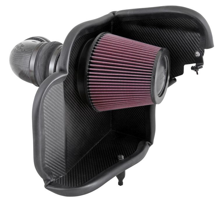 Aircharger; Carbon Fiber, Chev. Camaro Zl1 6.2L-V8, 2012-2015
