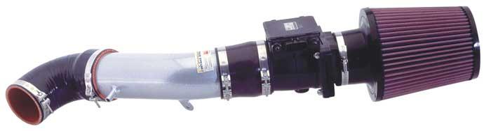 K&N Typhoon Intake System Mitsubishi Eclipse 2000-2003 2.4L (Silver)