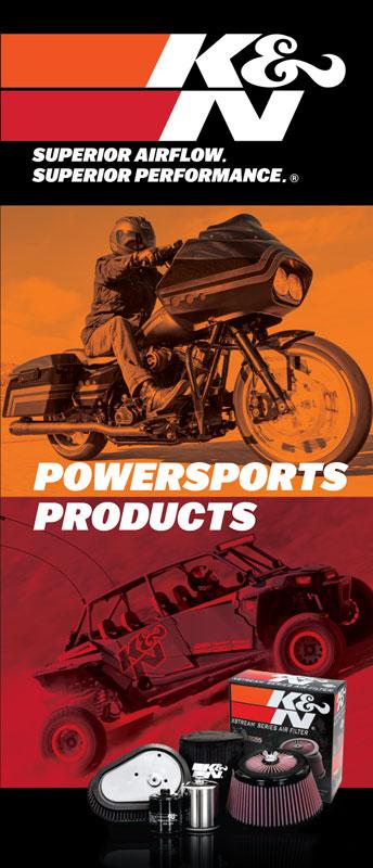 """Powersports Mini Brochure; 8-1/2"""" X 3-5/8"""""""