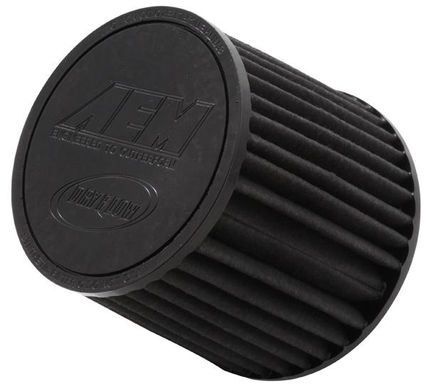 "Air Filter; 2.25"" Flg X 5"" Dryflow"