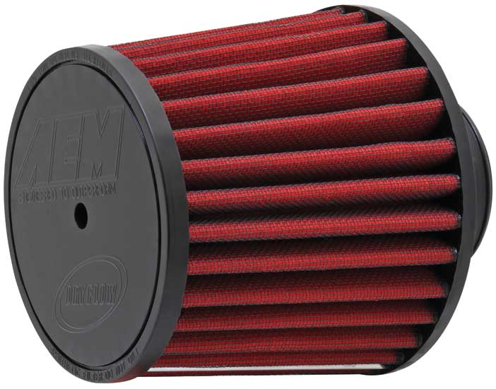 "Air Filter; 2.5"" X 5"" Dryflow- 7/16"" Hole"
