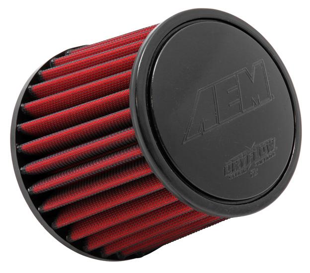 "Air Filter; 2.5"" X 5"" Dryflow"