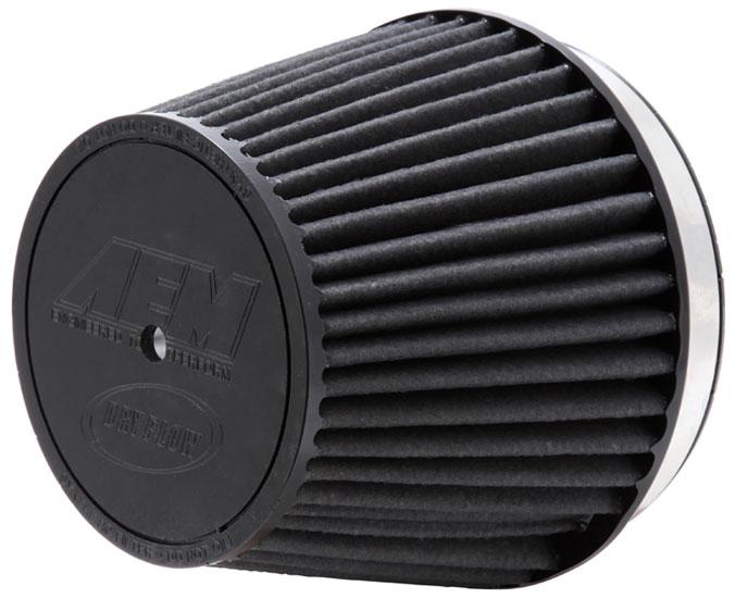 "Air Filter; 6"" X 5"" Dryflow- W/Hole"