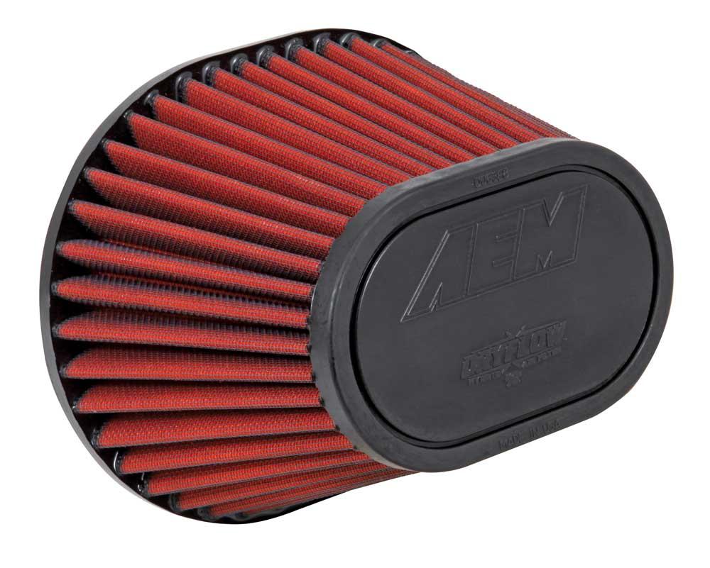 """Air Filter; 3.5""""Flg, 8-1/2""""L X 7""""W, Top-6-1/4L X 4W. 5-1/2H"""