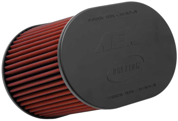 """Air Filter; 4"""" X 7"""" Dsl Oval Dryflow"""
