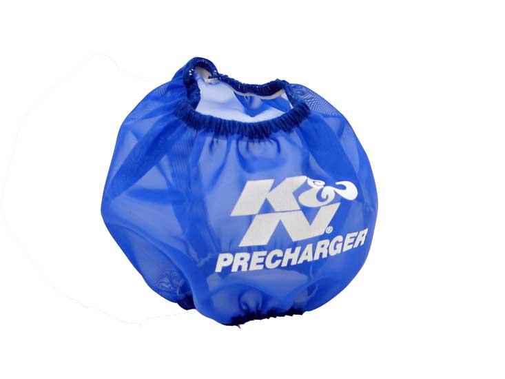 Precharger Wrap, Blue, Kawasaki
