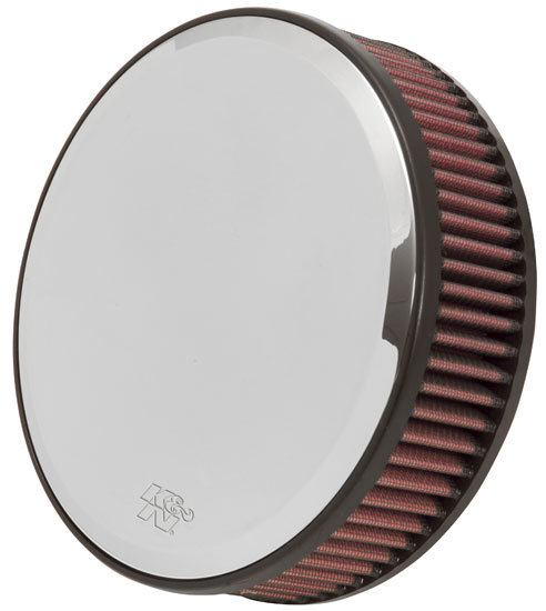 H/D Sportster Filter Kit, Round Mirror