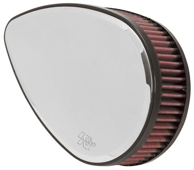 H/D Sportster Filter Kit, Teardrop Mirror