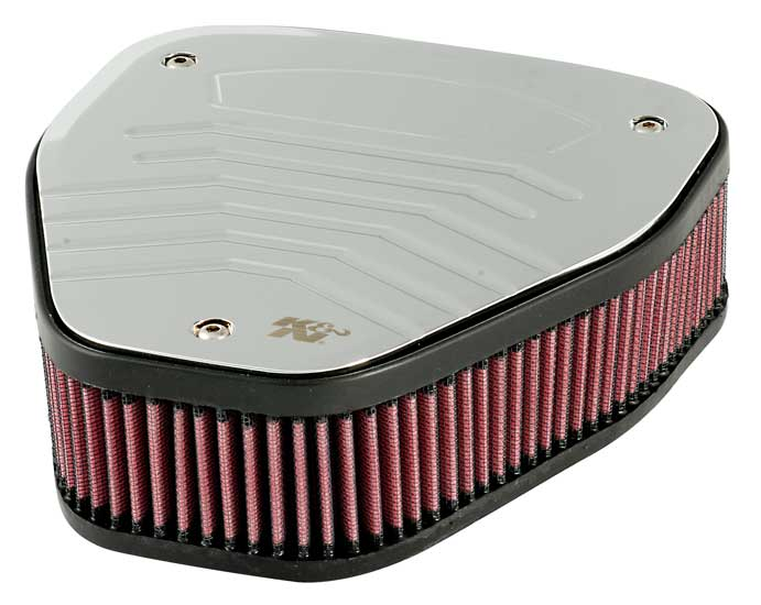 Air Filter Assembly : K n custom air filter assembly for honda vtx provides