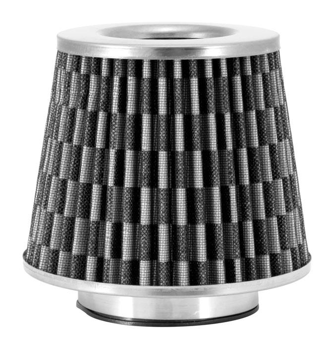 "Spectre Performance 8129 Air Filter 3.5"" Cone - Checkered Flag Design"