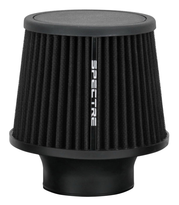 """Spectre Performance 9131 HPR Air Filter 3"""" Cone - 6.5"""" Tall - Black"""
