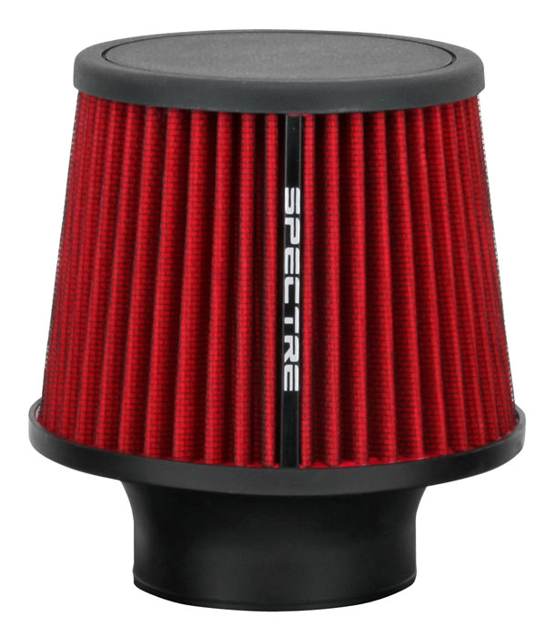 """Spectre Performance 9132 HPR Air Filter 3"""" Cone - 6.5"""" Tall - Red"""