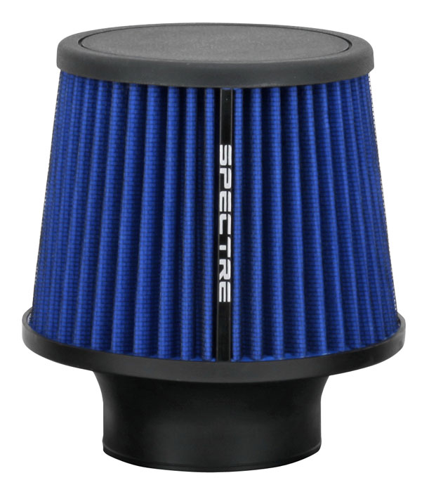 """Spectre Performance 9136 HPR Air Filter 3"""" Cone - 6.5"""" Tall - Blue"""
