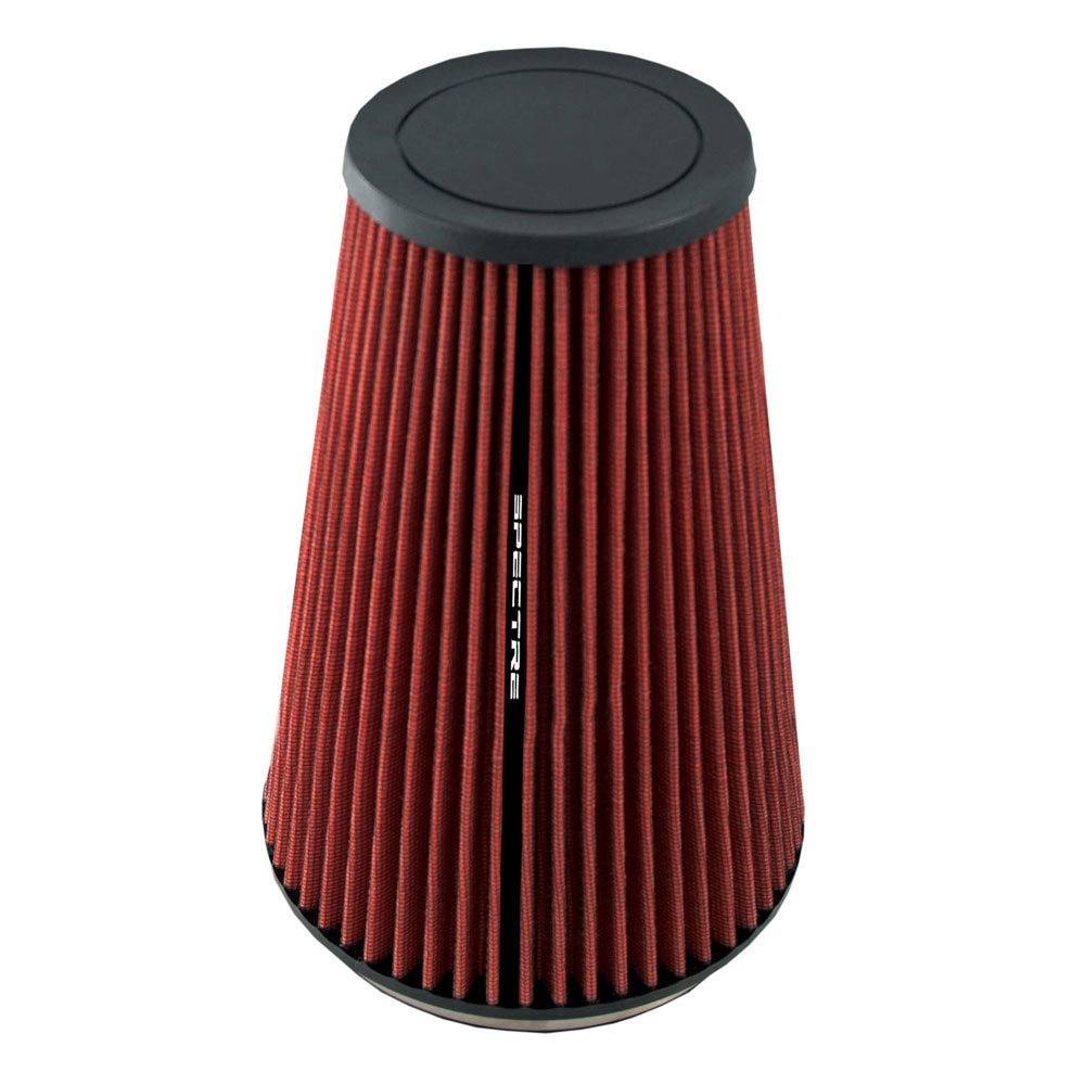 """Spectre Performance HPR9605 HPR Air Filter 6"""" Cone - 10.5"""" Tall - Red"""