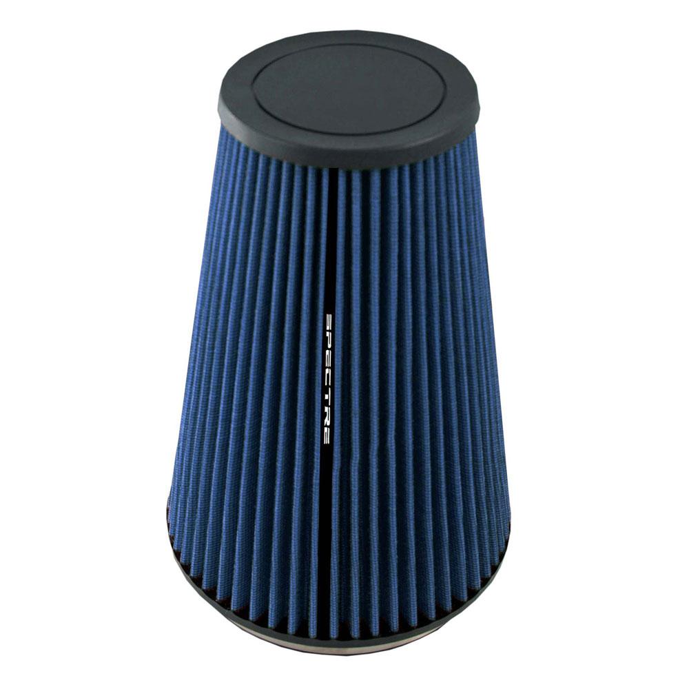 "Spectre Performance HPR9605B HPR Air Filter 6"" Cone - 10.5"" Tall - Blue"
