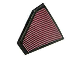 K&N air filter 33-2332 for the BMW 328XI, BMW 328I, BMW 128I, BMW 330XI, BMW 325XI and BMW 325I