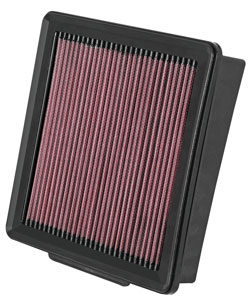Replacement air filter for the 2006, 2007, 2008 and 2009 Infiniti M45 Sedan