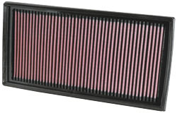 Replacement Air Filter for 2007, 2008, 2009, 2010, 2011 and 2012 Mercedes Benz AMG