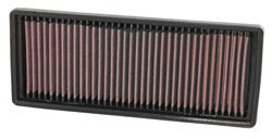 Replacement air filter for 2007, 2008, 2009, 2010, 2011 and 2012 Smart Fortwo 1.0 liter engine