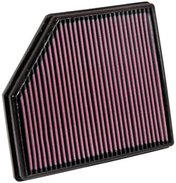 K&N's 33-2418 lifetime replacement air filter for the 2008-2013 Volvo V70, Volvo S80 and Volvo XC70
