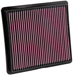 K&N 33-2419 lifetime replacement air filter for select Dodge Caravan, Dodge Grand Caravan, Chrysler Town and Country Van, Chrysler Voyager, Lancia Voyager and Volkswagen Routan