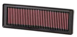 K&N's 33-2931 Replacement Air Filter for Fiat Grande Punto