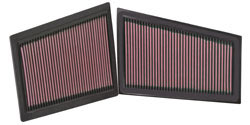 K&N's Replacement Air Filter 33-2940 for Mercedes Benz Diesel Applications
