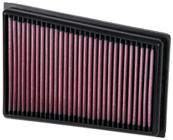 'K&N 's Nissan Qashqai & X-Trail Replacement Air Filter