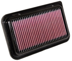 K&N's 33-2949 lifetime replacement air filter for the 2009-2012 Vauxhall Agila, Suzuki Splash and Opel Agila