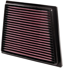 K&N air filter for select Ford Fiesta, Ford Fiesta VI, Ford B-Max and Mazda 2 1.0L, 1.25L, 1.4L & 1.6L