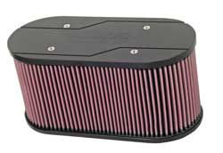 K&N's 56-1776-1 custom air filter for Weber Carburetors