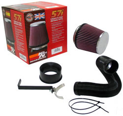 K&N 57-0648-1 Performance Air Intake Kit for a wide range of 2004 - 2011 BMW 2.0 liter four cylinder models