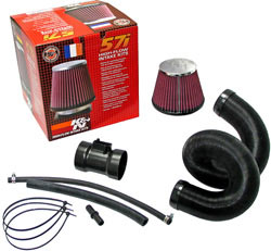 K&N's 57-0668 Air Induction Kit for the 2005, 2006, 2007, 2008, 2009, 2010 and 2011 European Honda Civic VII 1.8L