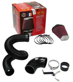 K&N Performance Induction Kit 57-0677 for the 2007 Renault Twingo with a 1.2 liter engine and the 2008 Renault Twingo with a 1.2 liter engine