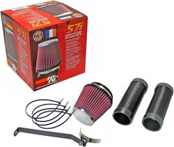 K&N Air Induction Kit for various 2007, 2008, 2009, 2010, 2011 and 2012 BMW 2.0 liter diesel