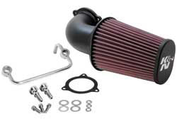 K&N's 63-1122 performance air intake system for 2008, 2009, 2010, 2011 & 2012 Harley Davidson Touring Models