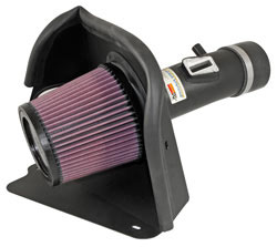 K&N's 69-7062 cold air intake system for the Nissan Altima with a 3.5 liter V6 engine