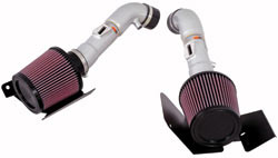 Dual air intake system for the 2007 and 2008 Nissan 350Z V6 engine