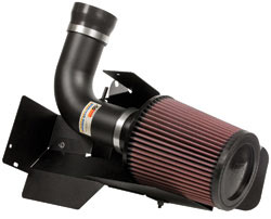 K&N air intake system 69-9756TK for the 2007 through 2013 SEAT Toledo, the 2004 through 2013 SEAT Altea and the 2004 through 2013 SEAT Leon, diesel and non-diesel models