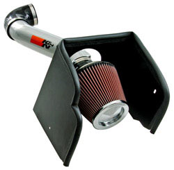 K&N Engineering 77-6016KS air intake system for the 2008, 2009, 2010, 2011 and 2012 Nissan Pathfinder with a 5.6 liter V8 engine