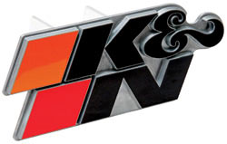 K&N Metal Hitch Cover