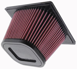 K&N  Replacement Air Filter for the 2003-2009 DODGE RAM 2500 and 3500 PICKUP 5.9L L6 Diesel  Engine.