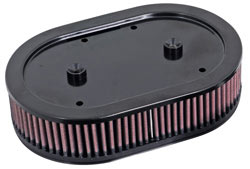 K&N's E-3040 Replacement air filter for K&N Assemblies on 2004-2012 Harley Davidson Sportsters