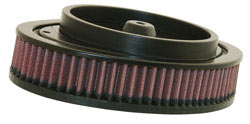 K&N air filter E-3972 used in K&N's RK 3930 high flow air filter assembly for Harley Davidson Touring models