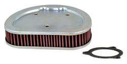 K&N's HD-1508 air filter for 2008 through 2012 Harley Davidson
