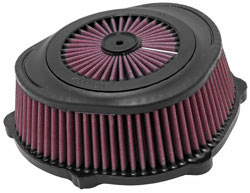 High Flow MX XStream-Top Air Filter for Kawasaki KX450F and KX250F