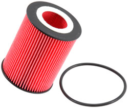 K&N PS-7016 cartridge oil filter for several 2007 through 2013 Land Rover LR2, Volvo S60, S80, XC60, XC70, XC90 models.